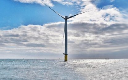 First power generated from 210MW UK wind farm