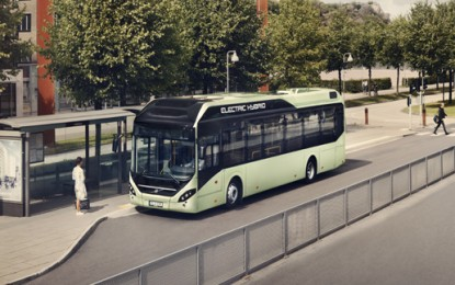 Volvo to launch new hybrid electric bus