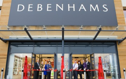 EXCLUSIVE: Daring Debenhams flaunts LEDs as standard in two new stores