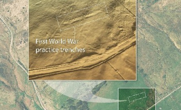 Coal mine mappers uncover WW1 trenches
