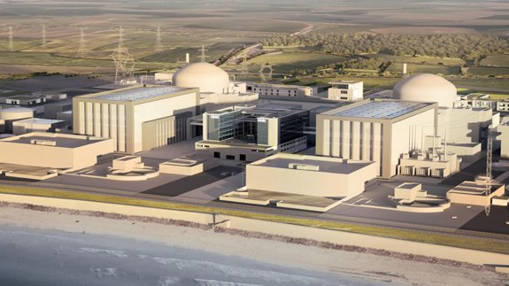 Hinkley Point artist's impression 575