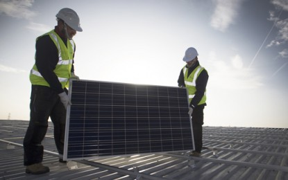M&S installing 'UK's largest' rooftop solar system