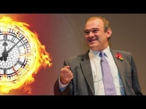 Ed Davey uses the F word