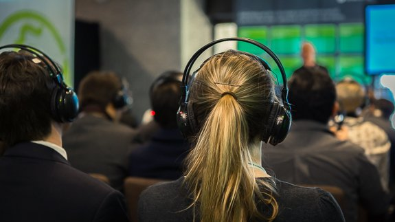"""Our """"silent disco"""" seminars proved a hit"""