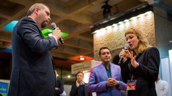 Chris Faulkner and Ewa Jasiewicz go toe to toe in a passionate debate