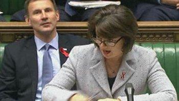 MP Jane Ellison, Parliamentary Under Secretary for Heath, 25.11.14. Image: Parliament