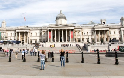 Picture of efficiency with National Gallery's LEDs