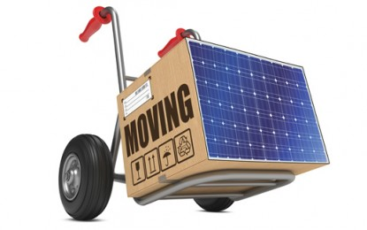 Relocating? Take your solar panels with you