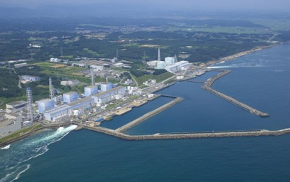 'No damage' at Fukushima nuclear plant after earthquake