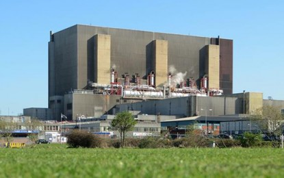 Hartlepool nuclear plant back online