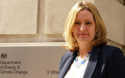 Amber Rudd barred from climate change talks