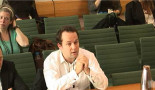 Ben Ayliffe, Head of Campaigns for Greenpeace Arctic Programme. Image: Parliament TV