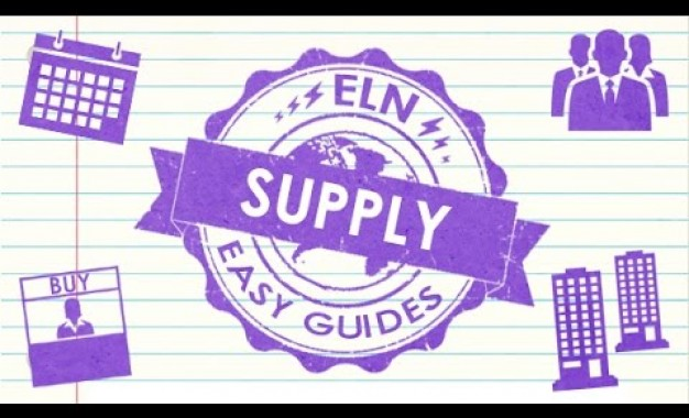 ELN Easy Guide to Supply