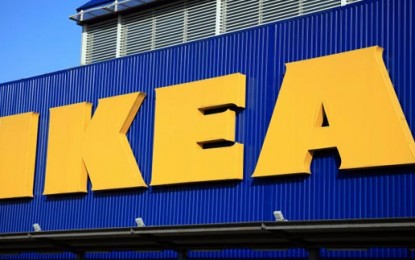 IKEA proves blue and yellow make green
