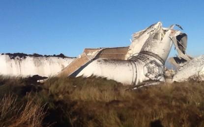 Irish wind farm closes after turbine crashes over