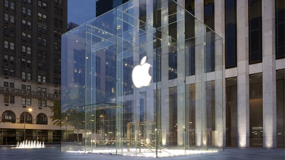 One of Apple's stores in New York City, US. Copyright: Apple