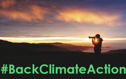 #BackClimateAction through your lens
