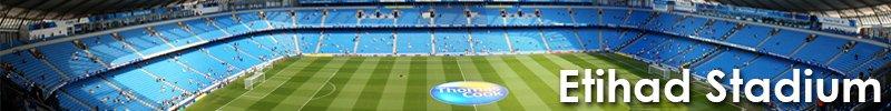 Etithad Stadium Banner