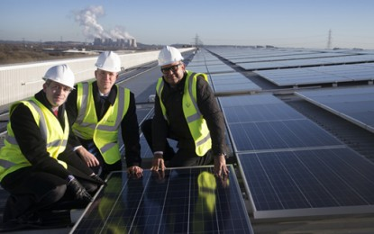 M&S completes 'UK's largest rooftop solar array'
