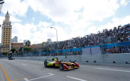 Miami hosts first all-electric car race in US