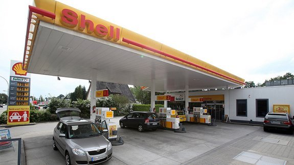 One of Shell's service stations in Europe. Image: Oliver Reck