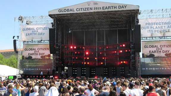 Image: Global Citizen Earth Day