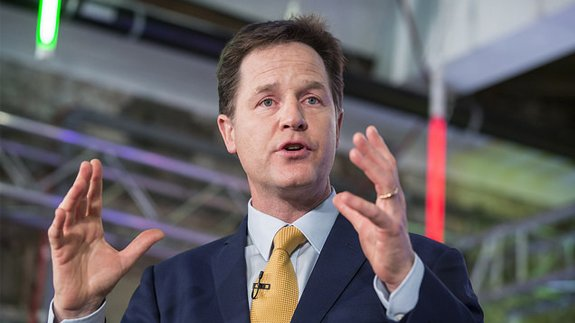 Deputy Prime Minister and Leader of the Liberal Democrats Nick Clegg. Image: James Gourley/Liberal Democrats