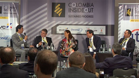 Colombia Inside Out conference in London. Image: ELN
