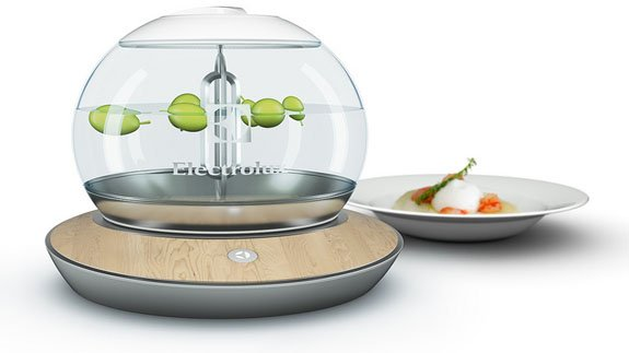 A novel new cooker Image: Electrolux