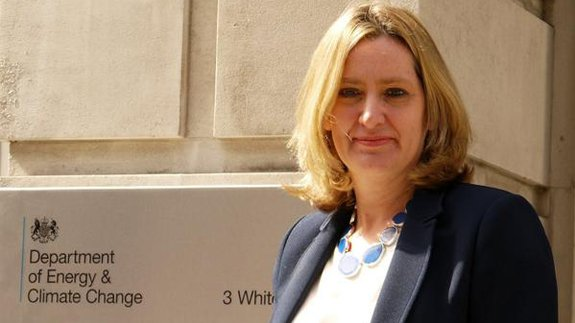 New Energy Secretary Amber Rudd. Image: DECC