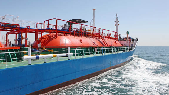 An LNG carrier. Image: Thinkstock