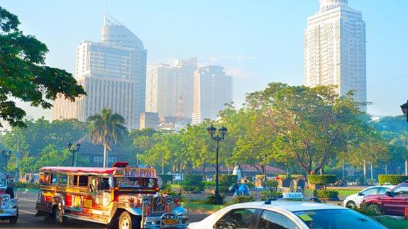 Manila, capital city of the Philippines.   Image: joyt/ Thinkstock