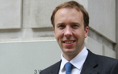 New role for former Energy Minister Matt Hancock