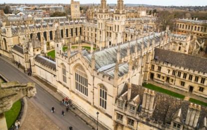 Oxford University against coal and tar-sands investment