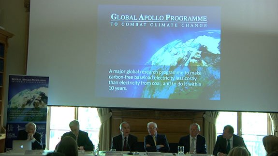 Global Apollo Programme conference at The Royal Society. Image: ELN