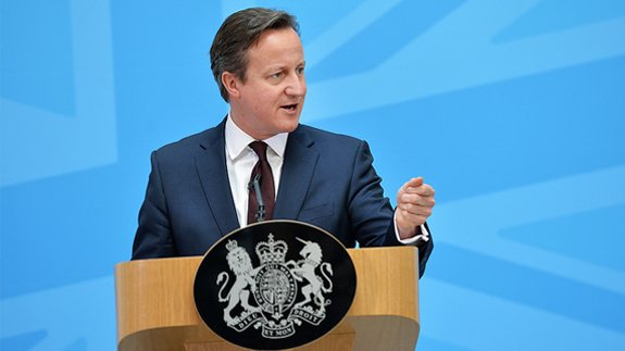 Prime Minister David Cameron. Image: Arron Hoare/Crown copyright