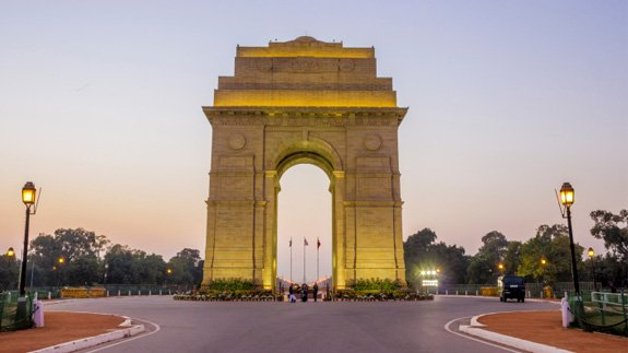 India Gate, New Delhi. Image: Harjeet Singh Narang / Thinkstock