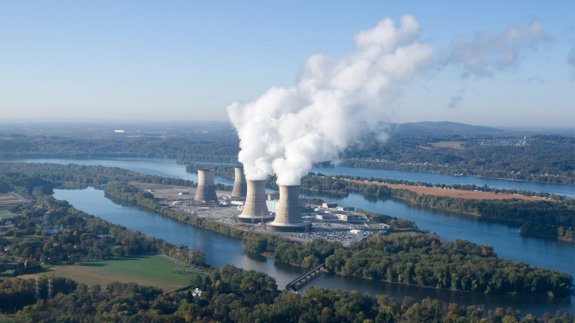A nuclear power plant. Image: Thinkstock