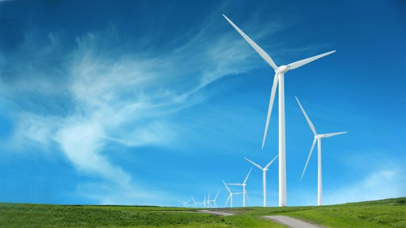 An onshore wind farm. Image: Thinkstock
