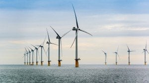 Westermost Rough offshore wind farm. Image: DONG Energy