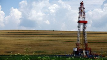 Shale gas drilling rig. Image: Thinkstock