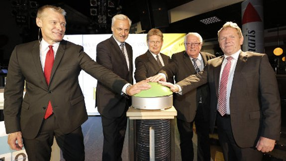 Official opening of the power-to-gas plant. Image: RWE