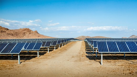 A generic solar farm in the US. Image: Thinkstock