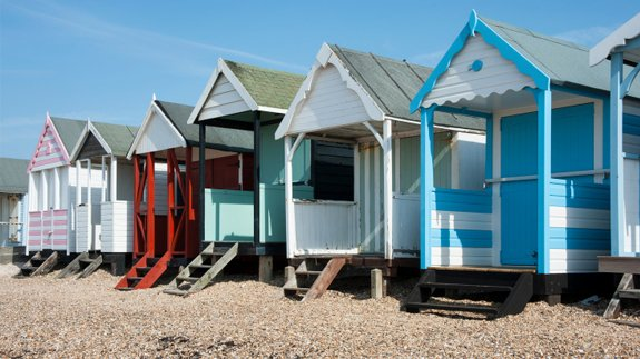 Beach houses at Southend-on-Sea. Image: Thinkstock