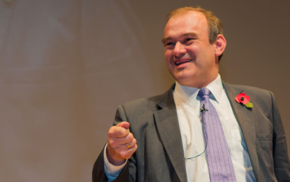 Ed Davey calls on charities to take crucial environmental role