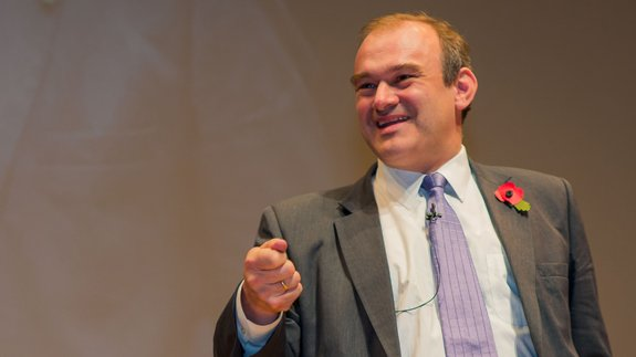 Former Energy Secretary  and Chairman of Mongoose Energy Ed Davey. Image: ELN