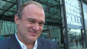 Ed Davey returns as Lib Dem's Shadow Energy Minister