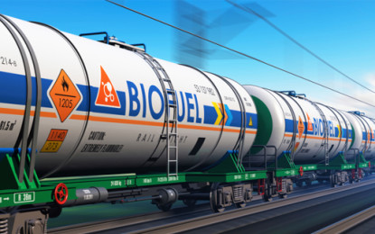 Biofuel output to hit 67bn gallons a year by 2022