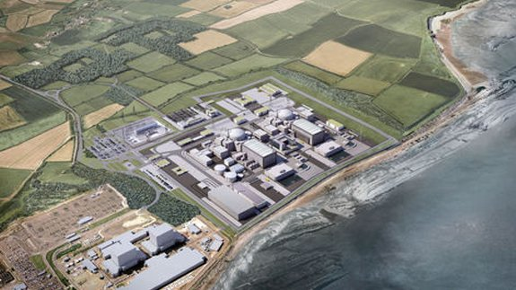 An artist's impression of Hinkley Point C. Image: EDF Energy