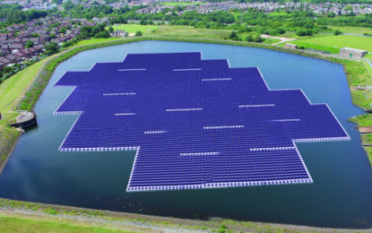 "Manchester to be home to ""Europe's largest"" floating solar farm"